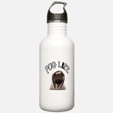 Pug Life Water Bottle
