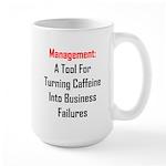 Management: Tool For Failure Large Mug