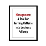 Management: Tool For Failure Framed Panel Print