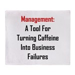 Management: Tool For Failure Throw Blanket