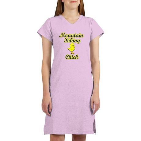 Mountain Biking Chick Women's Nightshirt
