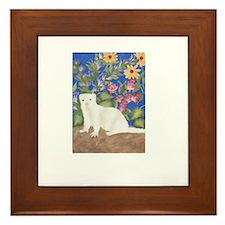 Ferrets Framed Tile