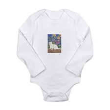 Ferrets Long Sleeve Infant Bodysuit