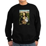 Mona - Corgi (Pembr-L) Sweatshirt (dark)