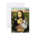 Mona - Corgi (Pembr-L) Greeting Cards (Pk of 10)