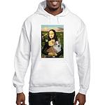 Mona - Corgi (Pembr-L) Hooded Sweatshirt