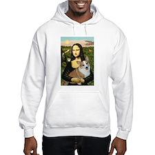 Mona - Corgi (Pembr-L) Hoodie Sweatshirt