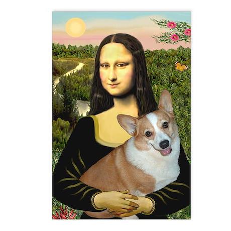 Mona - Corgi (Pembr-L) Postcards (Package of 8)