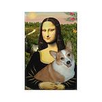 Mona - Corgi (Pembr-L) Rectangle Magnet (10 pack)
