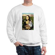 Mona - Corgi (Pembr-L) Sweatshirt