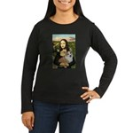 Mona - Corgi (Pembr-L) Women's Long Sleeve Dark T-