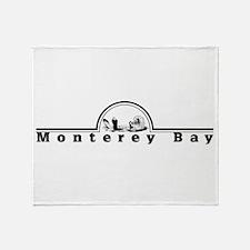 Cute Monterey california Throw Blanket