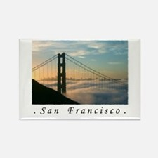 San Francisco Airbrushed Gifts Rectangle Magnet