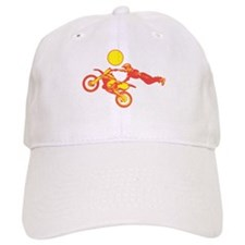 Flying Dirtbike Baseball Cap
