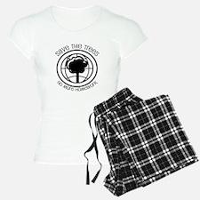 Save the Trees No More Homework Pajamas