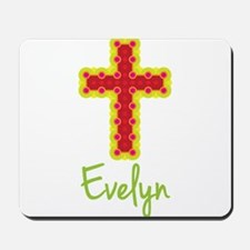 Evelyn Bubble Cross Mousepad