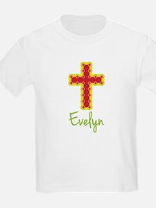 Evelyn Bubble Cross T-Shirt