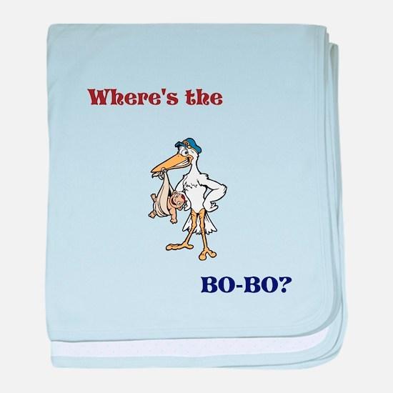 Bo-bo loving baby baby blanket