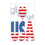 God Bless the USA Mini Poster Print