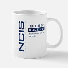 NCIS Gibbs' Rule #51 Mug