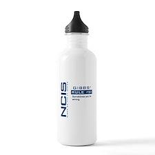 NCIS Gibbs' Rule #51 Water Bottle