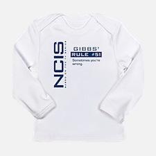 NCIS Gibbs' Rule #51 Long Sleeve Infant T-Shirt