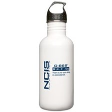 NCIS Gibbs' Rule #39 Water Bottle