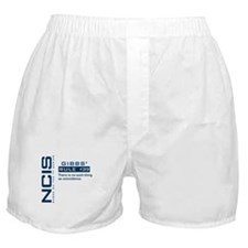 NCIS Gibbs' Rule #39 Boxer Shorts