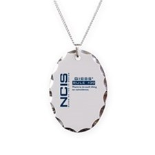 NCIS Gibbs' Rule #39 Necklace