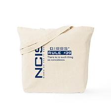 NCIS Gibbs' Rule #39 Tote Bag