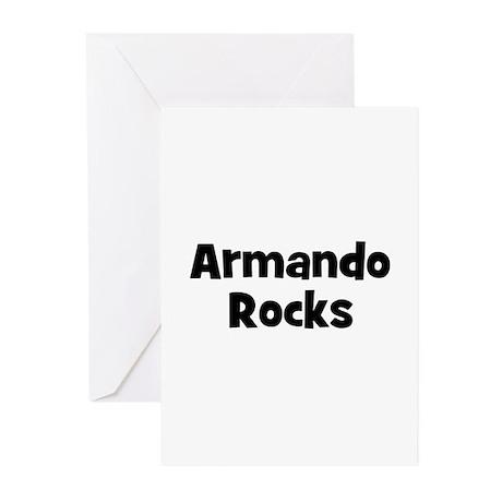 Armando Rocks Greeting Cards (Pk of 10)