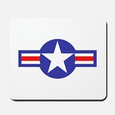 Air Force Star and Bars Mousepad