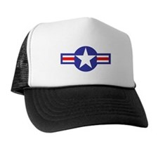 Air Force Star and Bars Trucker Hat
