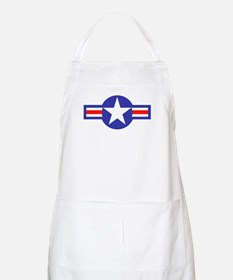 Air Force Star and Bars BBQ Apron