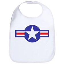 Air Force Star and Bars Bib