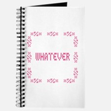 Whatever Rude Cross Stitch Journal