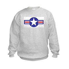 Air Force Star and Bars Sweatshirt