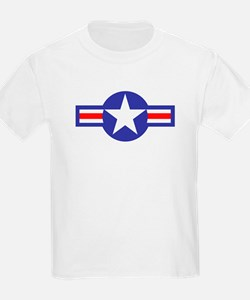 Air Force Star and Bars Kids T-Shirt