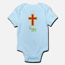 Peggy Bubble Cross Infant Bodysuit