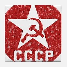 CCCP Tile Coaster