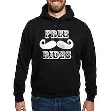 Free Mustache Rides Hoodie
