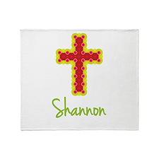 Shannon Bubble Cross Throw Blanket