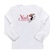 Funny Vail colorado Long Sleeve Infant T-Shirt