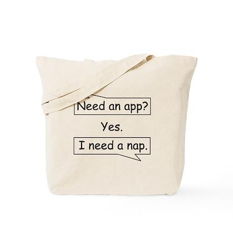 Need a Nap Tote Bag