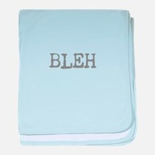 Sayings baby blanket