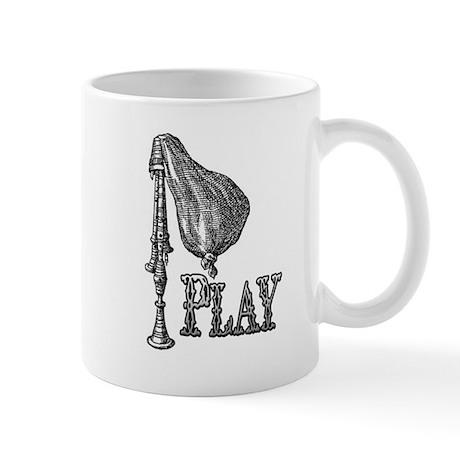 PLAY- BAGPIPES Mug