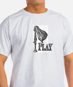 PLAY- BAGPIPES T-Shirt