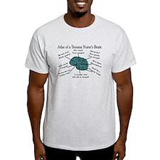 A Nurses's Brain T-Shirt