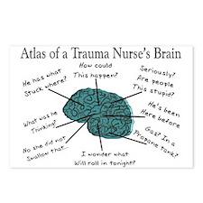 A Nurses's Brain Postcards (Package of 8)