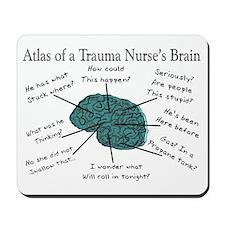A Nurses's Brain Mousepad